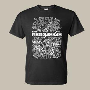 Reggaskas Black Festival T-Shirt